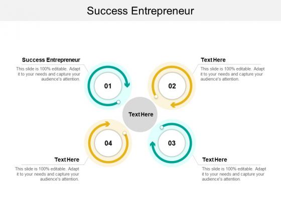 Success Entrepreneur Ppt PowerPoint Presentation Icon Infographics Cpb