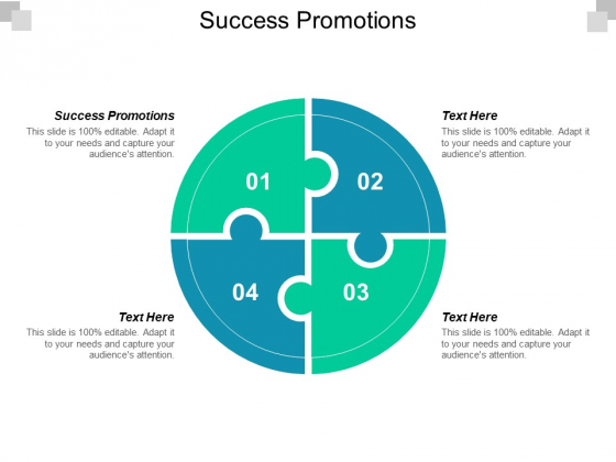 Success Promotions Ppt PowerPoint Presentation Layouts Layout Ideas Cpb
