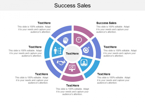 Success Sales Ppt PowerPoint Presentation Layouts File Formats Cpb