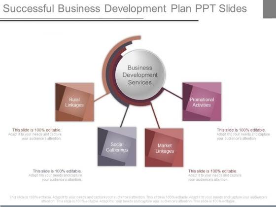 Successful Business Development Plan Ppt Slides