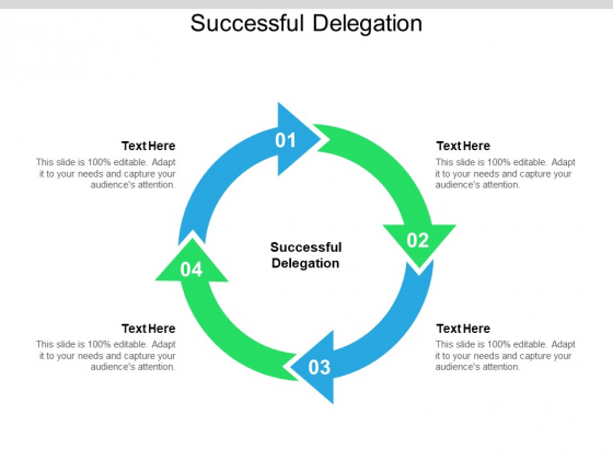 Successful Delegation Ppt PowerPoint Presentation Show Format Cpb