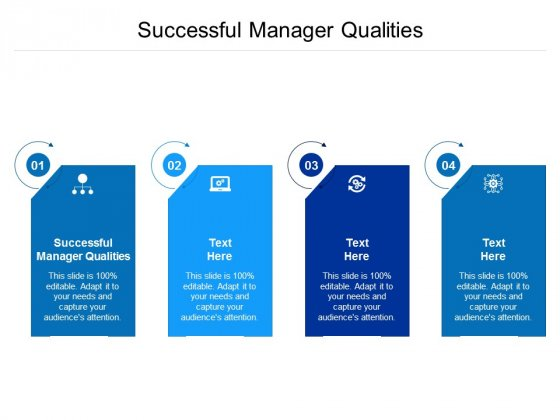 Successful Manager Qualities Ppt PowerPoint Presentation Themes Cpb