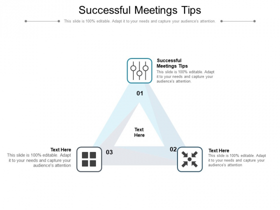 Successful Meetings Tips Ppt PowerPoint Presentation Pictures Graphic Images Cpb Pdf