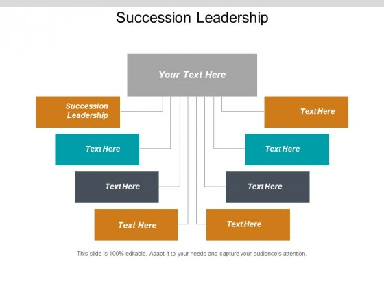Succession Leadership Ppt PowerPoint Presentation Outline Maker Cpb