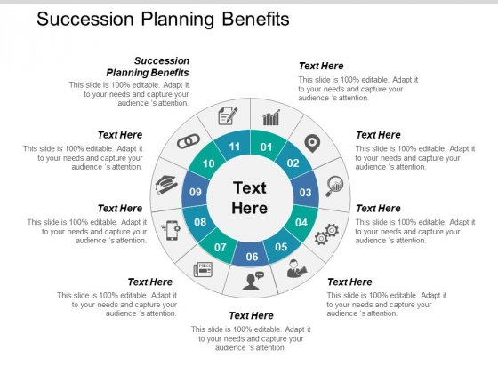 Succession Planning Benefits Ppt PowerPoint Presentation Slides Samples Cpb