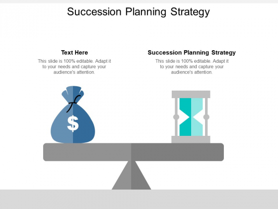 Succession Planning Strategy Ppt PowerPoint Presentation Infographics Slide Portrait Cpb