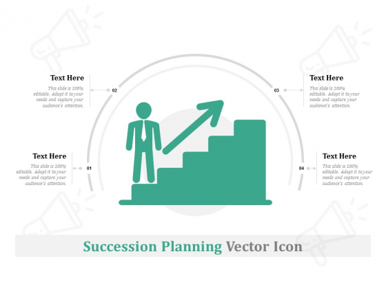 Succession Planning Vector Icon Ppt PowerPoint Presentation Infographics Templates