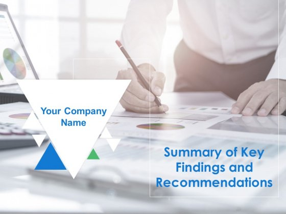 Summary Of Key Findings And Recommendations Ppt PowerPoint Presentation Complete Deck With Slides