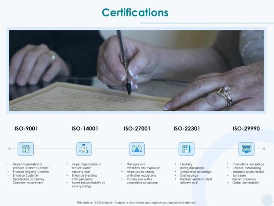 Sun Energy Dealing Certifications Ppt Model Format PDF