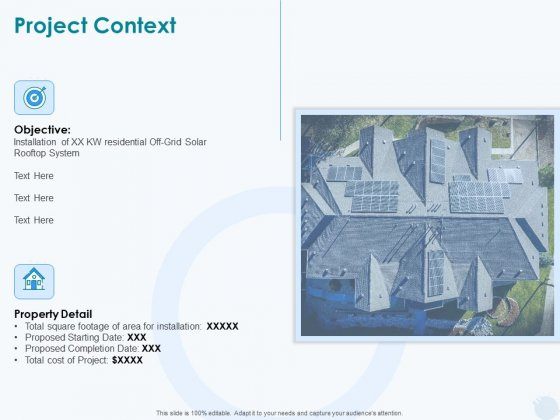 Sun Energy Dealing Project Context Ppt Infographic Template Good PDF