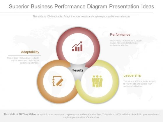 Superior Business Performance Diagram Presentation Ideas