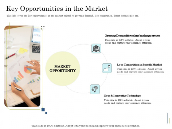Supplementary Debt Financing Pitch Deck Key Opportunities In The Market Template PDF