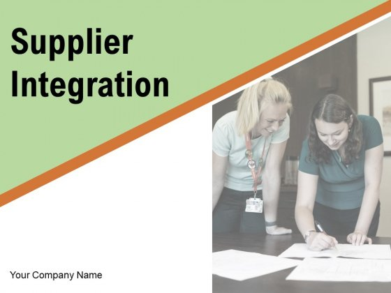 Supplier Integration Checklist Costs Ppt PowerPoint Presentation Complete Deck