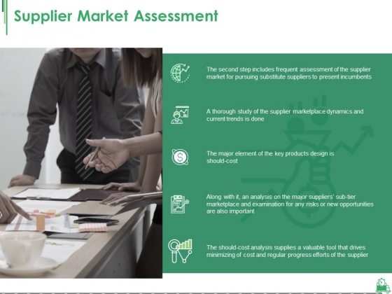 Supplier Market Assessment Ppt PowerPoint Presentation Ideas Show