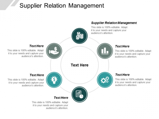 Supplier Relation Management Ppt PowerPoint Presentation Summary Outfit Cpb