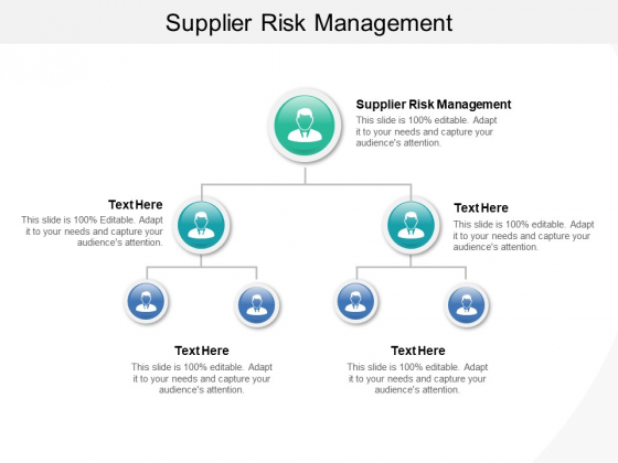 Supplier Risk Management Ppt PowerPoint Presentation File Rules Cpb Pdf