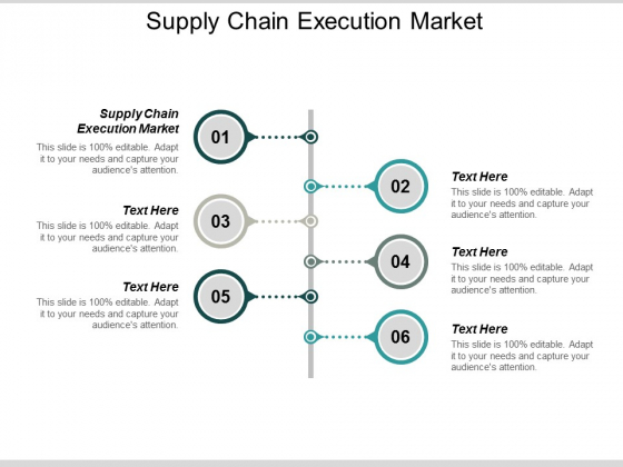Supply Chain Execution Market Ppt PowerPoint Presentation Slides Designs Download Cpb