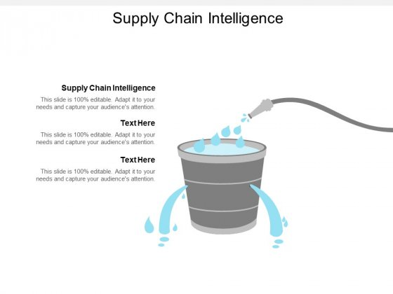 Supply Chain Intelligence Ppt PowerPoint Presentation Gallery Styles Cpb