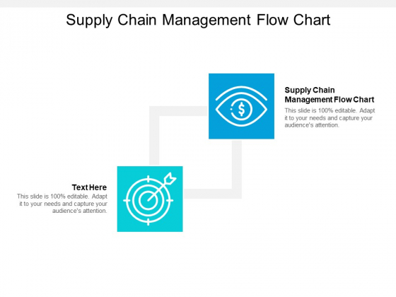 Supply Chain Management Flow Chart Ppt PowerPoint Presentation Gallery Pictures Cpb