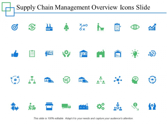 Supply Chain Management Overview Icons Slide Slide Management Ppt PowerPoint Presentation Pictures Good