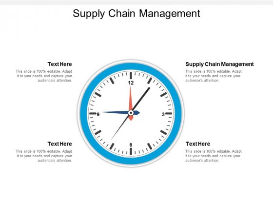Supply Chain Management Ppt PowerPoint Presentation Layouts Designs Download Cpb