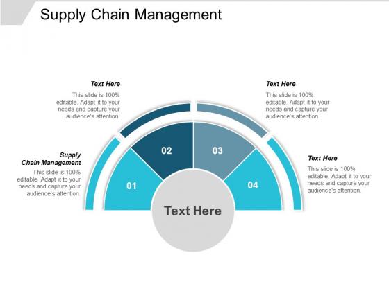Supply Chain Management Ppt PowerPoint Presentation Portfolio Information