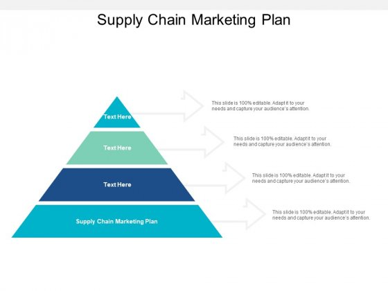 Supply Chain Marketing Plan Ppt PowerPoint Presentation Ideas Design Inspiration
