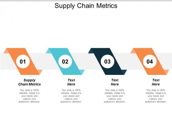 Supply Chain Metrics Ppt PowerPoint Presentation Styles Brochure Cpb
