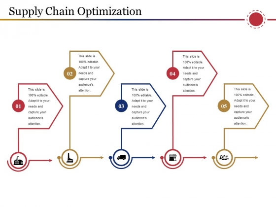 Supply Chain Optimization Template 2 Ppt PowerPoint Presentation Infographic Template Layout