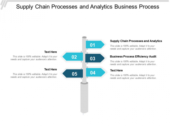 Supply Chain Processes And Analytics Business Process Efficiency Audit Ppt PowerPoint Presentation Infographics Tips