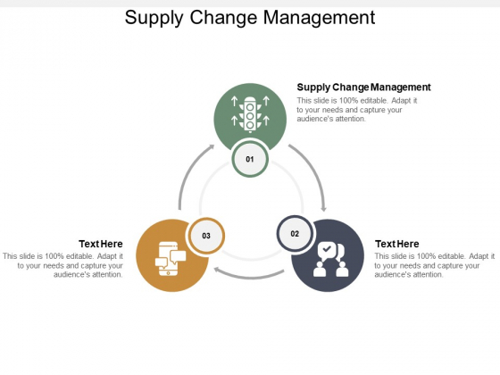 supply change management ppt powerpoint presentation outline mockup cpb