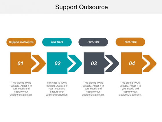Support Outsource Ppt PowerPoint Presentation Infographic Template Example Topics Cpb