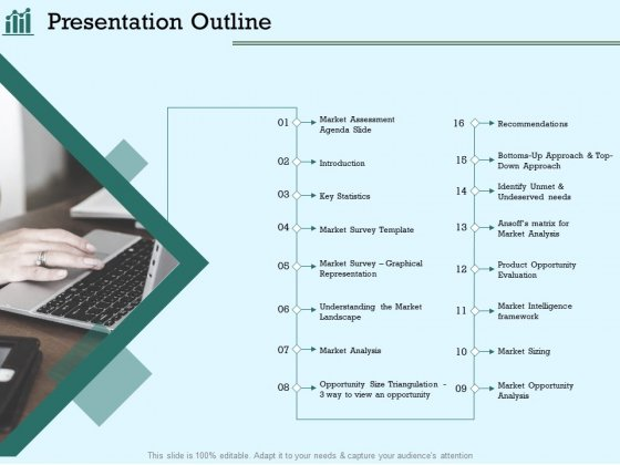 Survey Analysis Gain Marketing Insights Presentation Outline Demonstration PDF