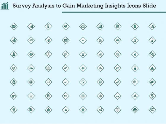 Survey Analysis To Gain Marketing Insights Icons Slide Portrait PDF