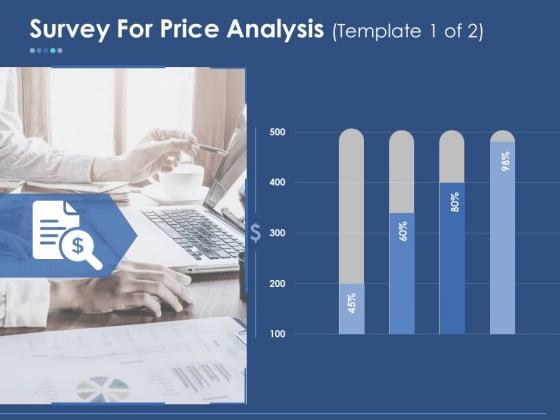 Survey For Price Analysis Ppt PowerPoint Presentation Styles Smartart