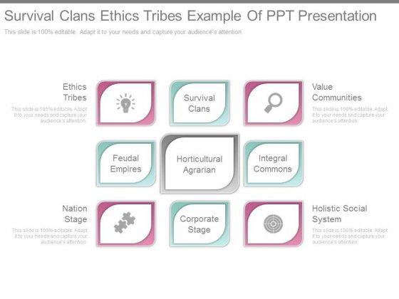 Survival_Clans_Ethics_Tribes_Example_Of_Ppt_Presentation_1