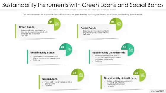 Sustainability_Instruments_With_Green_Loans_And_Social_Bonds_Ppt_PowerPoint_Presentation_File_Brochure_PDF_Slide_1