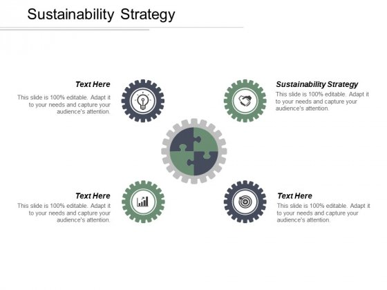 Sustainability Strategy Ppt PowerPoint Presentation Inspiration Graphics Design Cpb