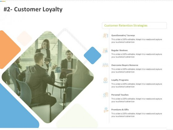 Sustainable Competitive Advantage Management Strategy 2 Customer Loyalty Ppt Ideas Design Templates PDF