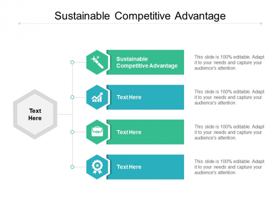Sustainable Competitive Advantage Ppt PowerPoint Presentation File Visual Aids Cpb
