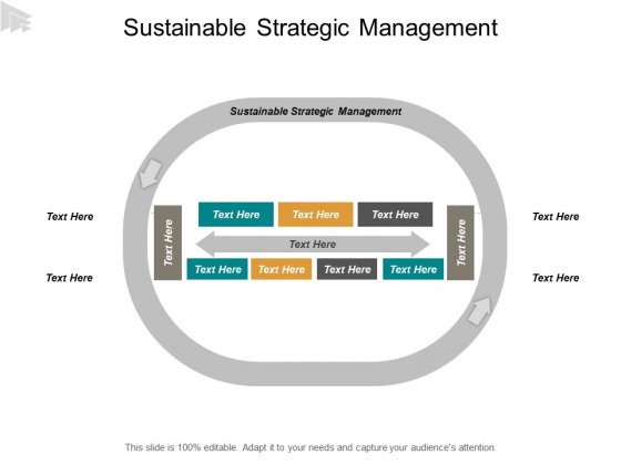 Sustainable Strategic Management Ppt PowerPoint Presentation Infographic Template Ideas Cpb