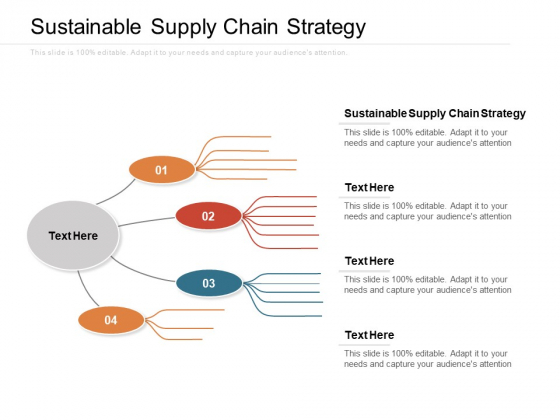 Sustainable Supply Chain Strategy Ppt PowerPoint Presentation Inspiration Design Inspiration Cpb Pdf