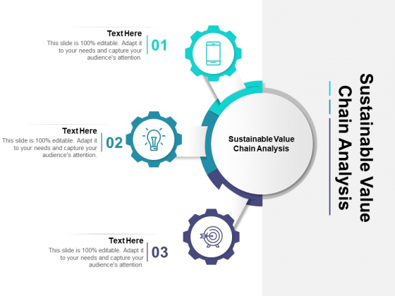 Sustainable Value Chain Analysis Ppt PowerPoint Presentation Model Design Templates Cpb Pdf
