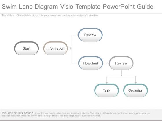 Swim Lane Diagram Visio Template Powerpoint Guide