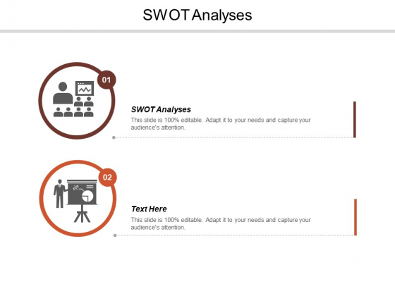 Swot Analyses Ppt PowerPoint Presentation Layouts Vector Cpb