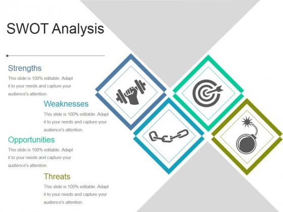 Swot Analysis Ppt PowerPoint Presentation Influencers