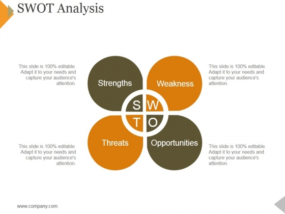 Swot Analysis Ppt PowerPoint Presentation Pictures Topics