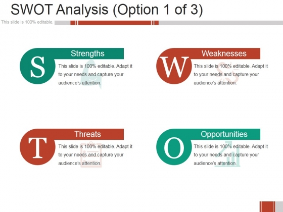 Swot Analysis Ppt PowerPoint Presentation Pictures Vector