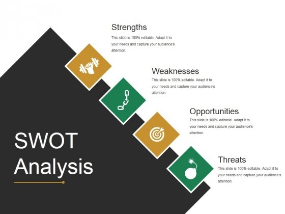 Swot Analysis Ppt PowerPoint Presentation Show Example