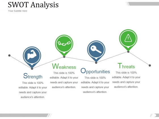 Swot Analysis Ppt PowerPoint Presentation Show